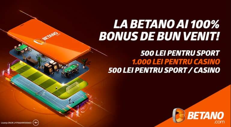 Betano Cazino bonus