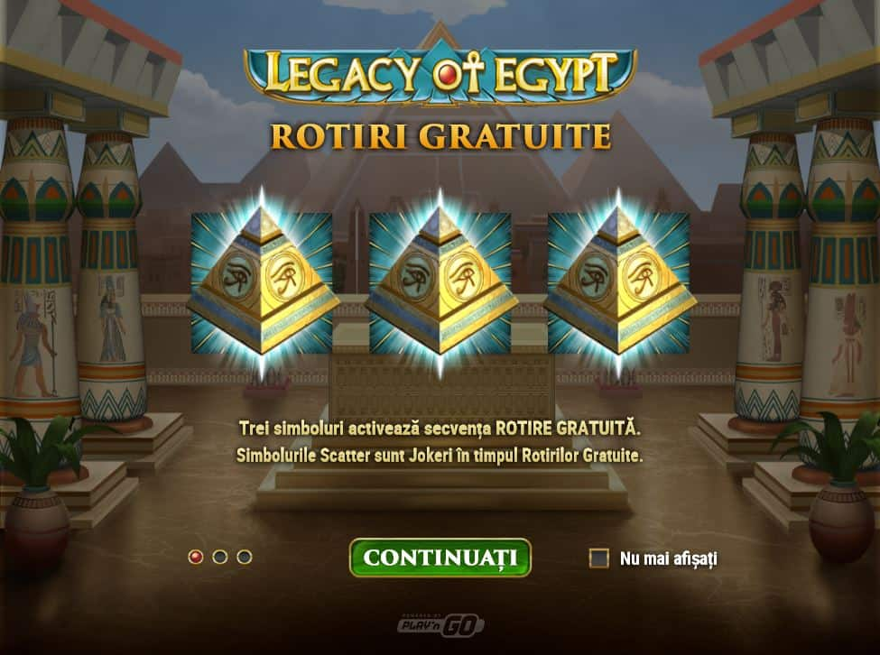 Legacy of Egypt slot online