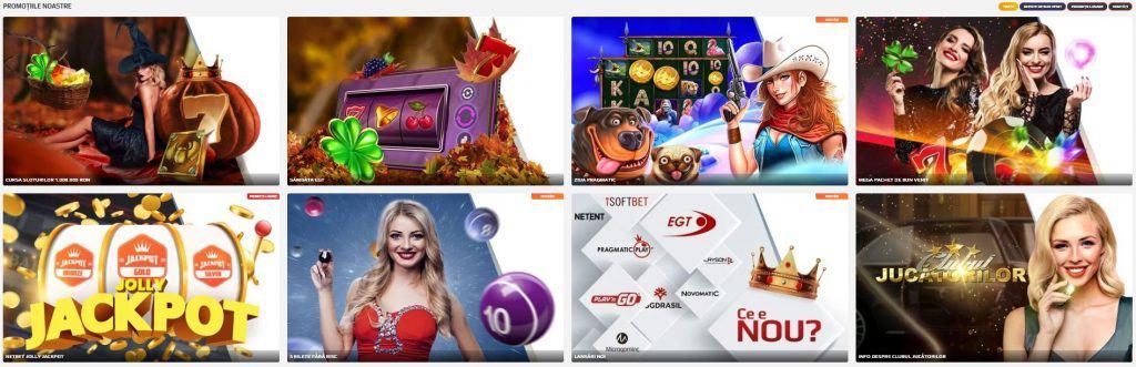 NetBet Cazino promoții