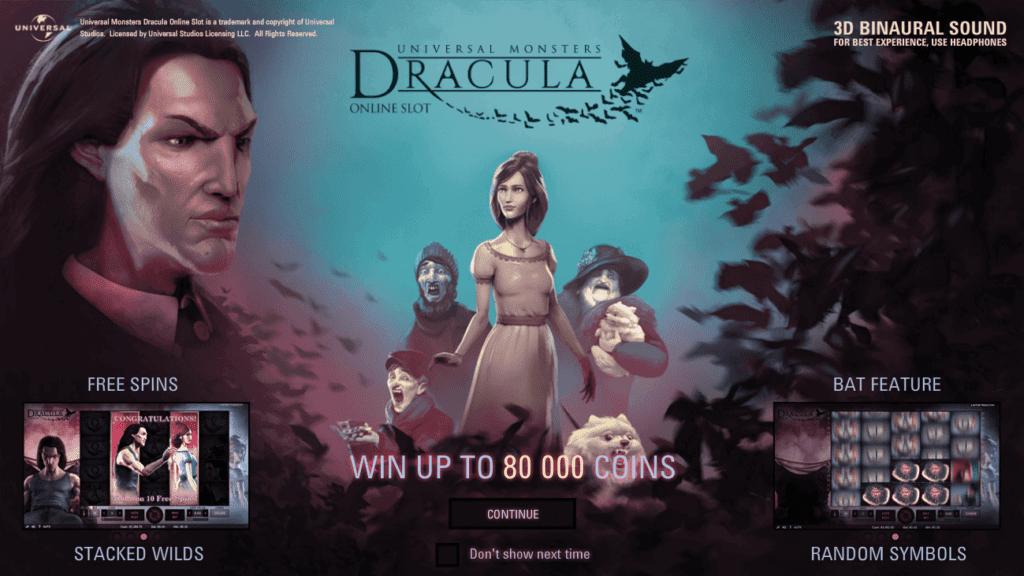 Top jocuri de Halloween Dracula de la NetEnt
