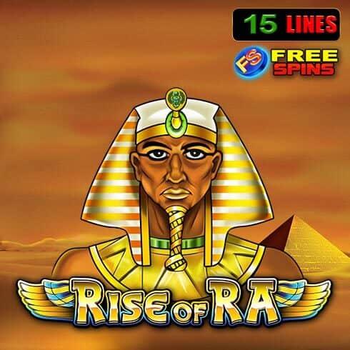 Jocul ca la aparate Rise of Ra de la EGT