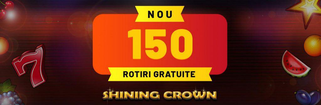 Bonus fără depunere la cazinouri online 150 rotiri gratuite maxbet