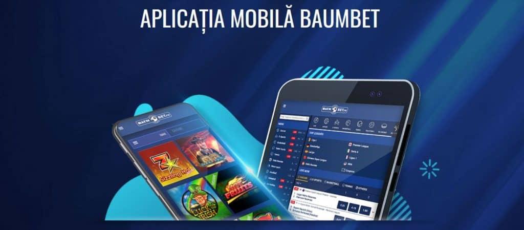Baumbet Cazino aplicație de mobil