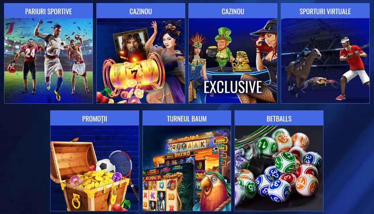 Baumbet Cazino - pariuri, cazino, virtuale, betballs