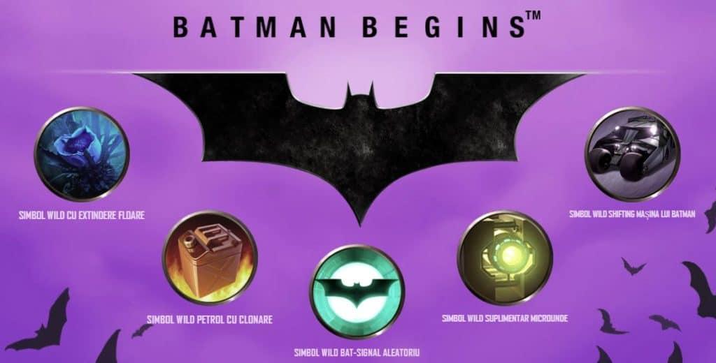 Păcănele din filme Batman Begins