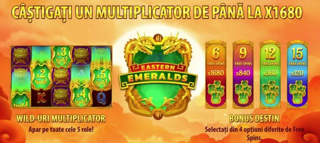 Slotul online Eastern Emeralds