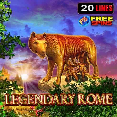 Jocul ca la aparate Legendary Rome