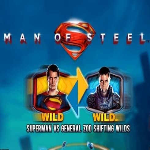 Jocul de păcănele Man of Steel