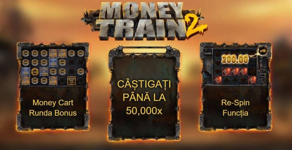 Păcănele gratis Money Train 2
