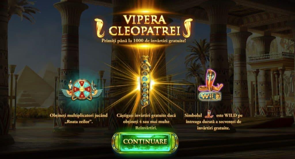 The Asp of Cleopatra păcănele gratis
