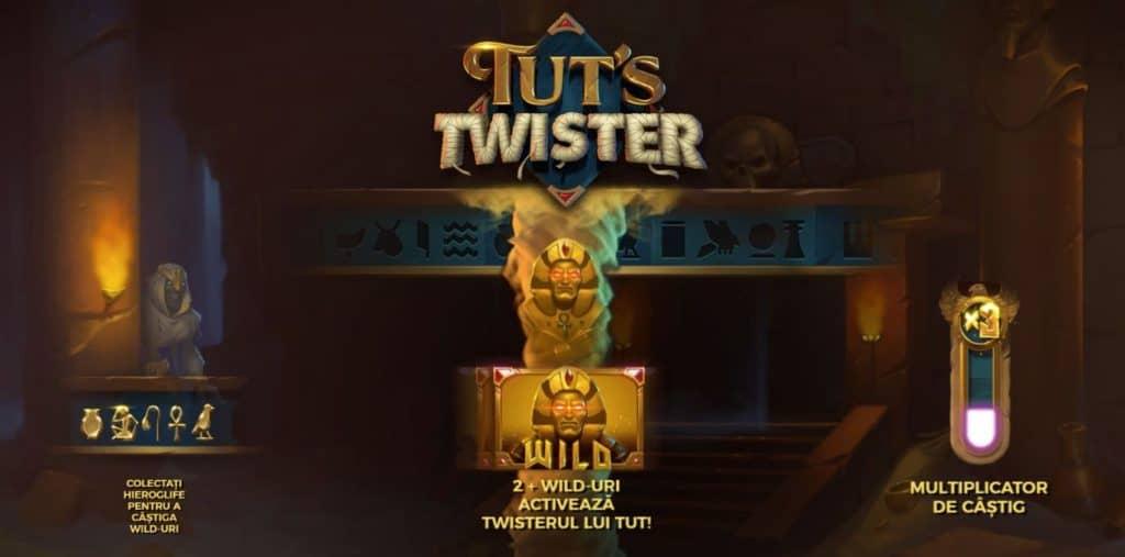 Jocul ca la aparate Tut s Twister