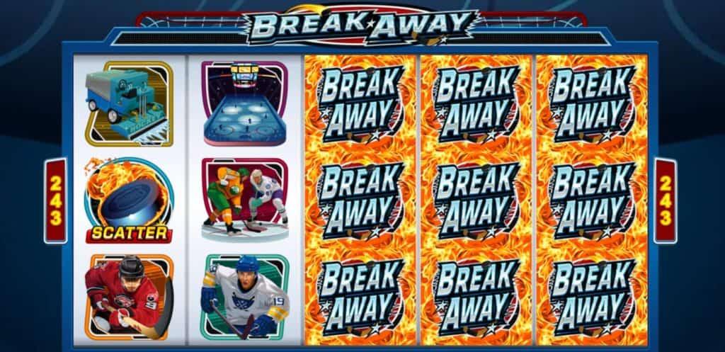 Break Away slot cu hochei