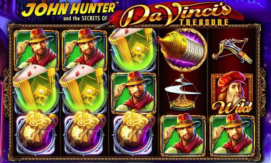 John Hunter and the Da Vincis Treasure
