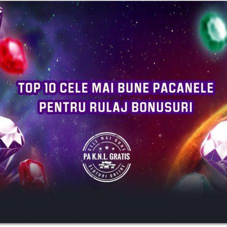 Top 10 cele mai bune păcănele pentru rulaj bonusuri