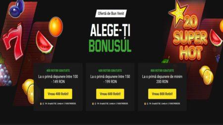 400, 600 sau 800 Rotiri Gratuite CASH la Unibet Casino