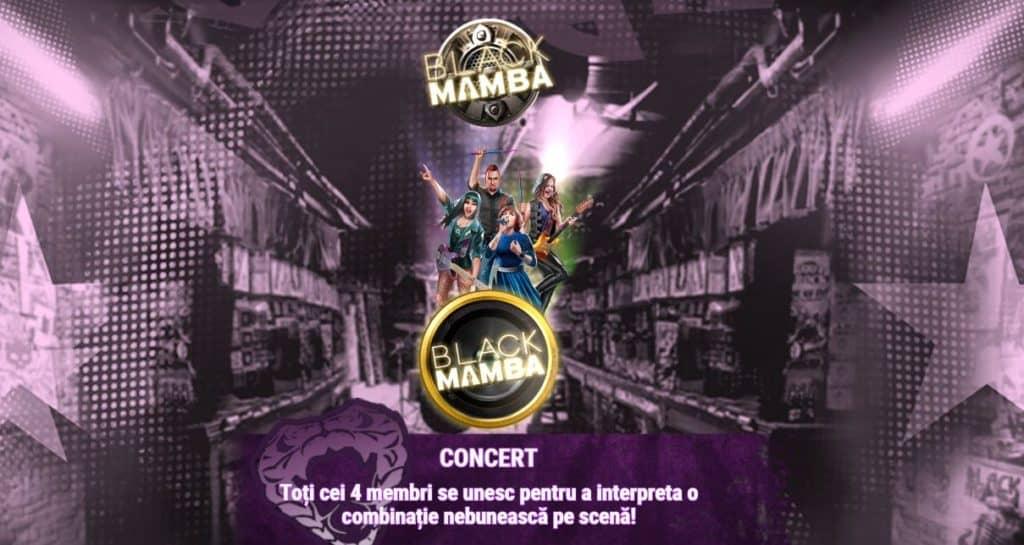 Păcănele cu muzică Black Mamba