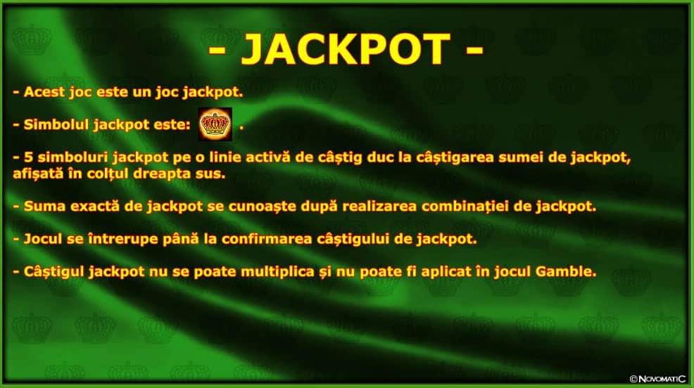 Păcănele Novomatic Jackpot Crown