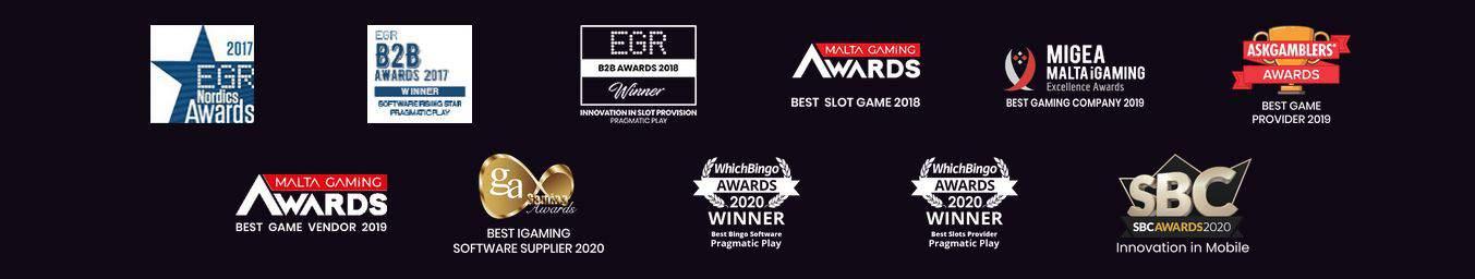 Premii Pragmatic Play lista 2021
