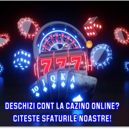 Cum deschizi cont la un cazino online?