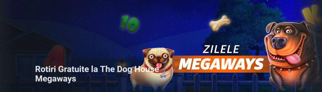 Rotiri gratuite la The Dog House