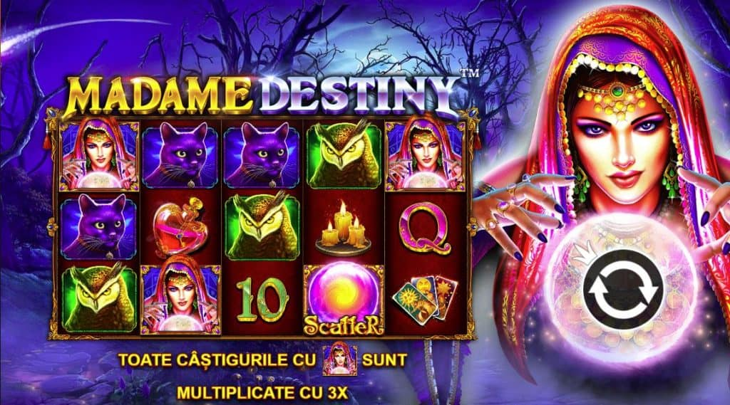 Păcănele online Madame Destiny