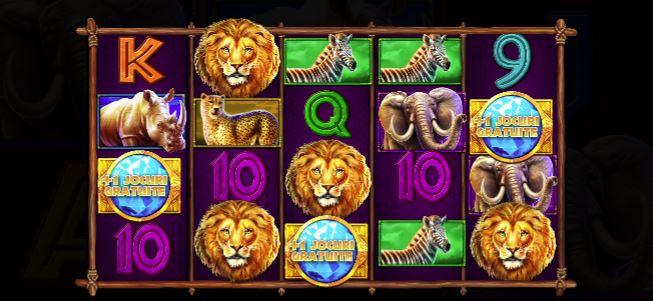 Jocul ca la aparate Safari King
