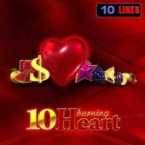 Păcănele EGT 10 Burning Heart