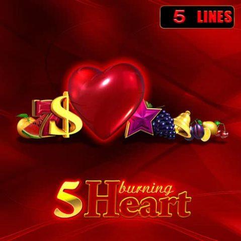Păcănele EGT 5 Burning Heart