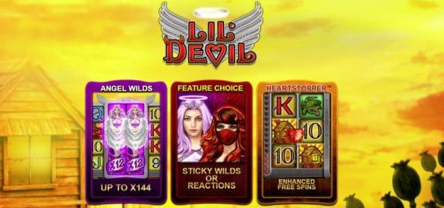 Jocul ca la aparate Lil Devil