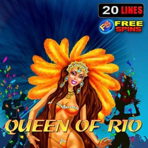 Jocul ca la aparate Queen of Rio