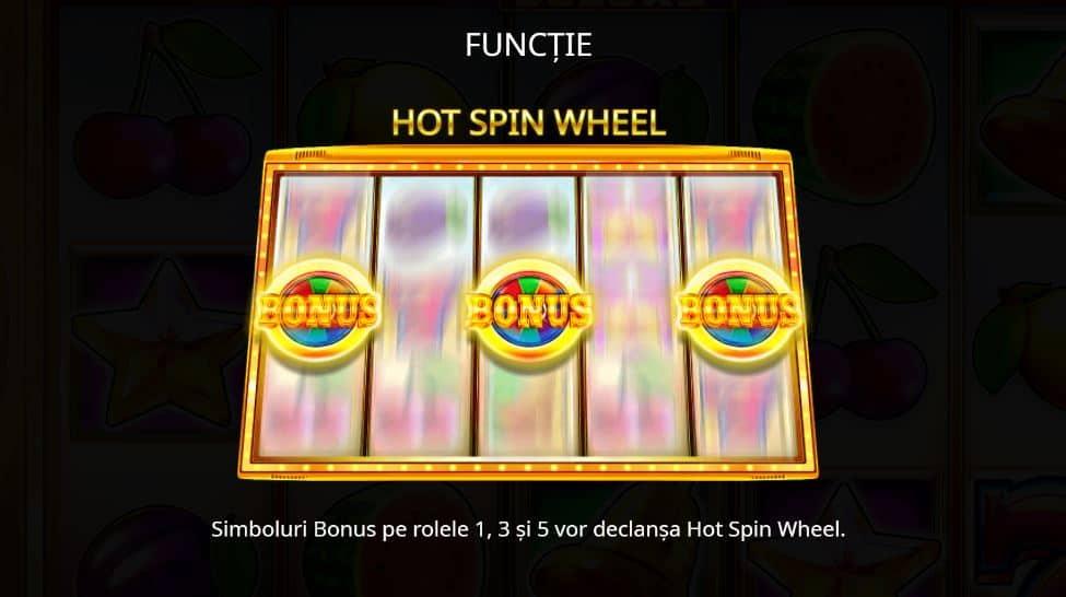 Păcănele 777 Hot Spin Deluxe