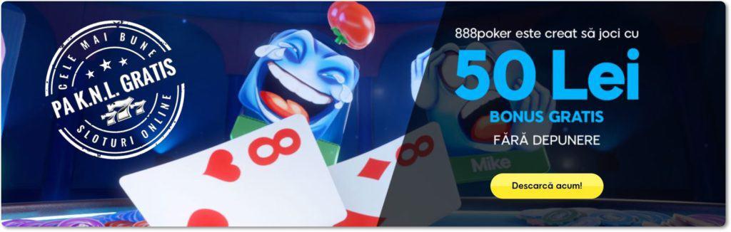 Bonus fără depunere 888