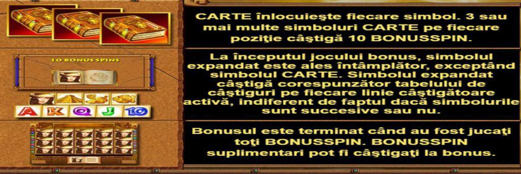 Păcănele online Book of Aztec