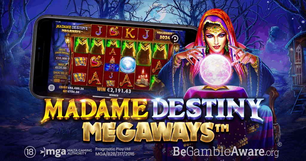 Cele mai populare păcănele lansate 2021 Madame Destiny